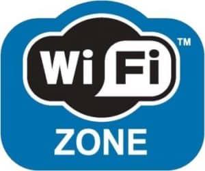 WiFi Zone Blue Logo